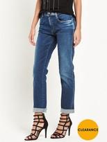 Replay Kellygray Straight Leg Jean - Dark Wash