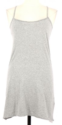 Berenice Grey Cotton Dress for Women