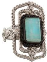 Armenta Multistone & Diamond Cocktail Ring