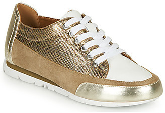 Karston CAMINO women's Shoes (Trainers) in Gold