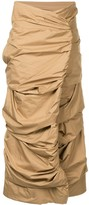 Issey Miyake Pre Owned Cocoon skirt