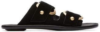 Rag & Bone Black Avost Slip-On Sandals