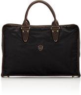 Felisi Men's Zip-Around Briefcase-BLACK