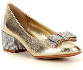 Nina Girl's Gisel Glitter Bow Dress Shoes