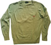 Fred Perry Green Cotton Knitwear for Women