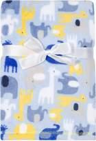 Baby Gear Plush Velboa Ultra Soft Baby Boys Blanket 30 x 40