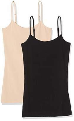 Vila NOS Women's Visurface Strap Top New 2-Pack - Noos Vest,(Size: M/L)