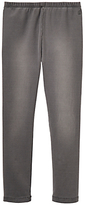Joules Little Joule Girls' Denim Jeggings, Grey Denim