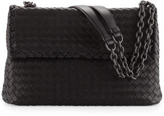 Bottega Veneta Olimpia Medium Shoulder Bag, Black