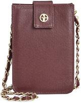 Giani Bernini Nappa Leather Smartphone Crossbody, Only at Macy's