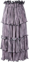 Romance Was Born blossoming pleat skirt - women - Polyester - 8