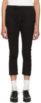 Haider Ackermann Black Hals Lounge Pants