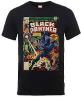 Marvel Comics The Black Panther Big Issue Men's Black T-Shirt