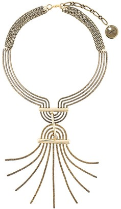 Lanvin Spiral Spread Necklace