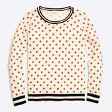 J.Crew Factory Lady bug Teddie sweater