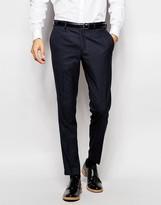Jack & Jones Premium Tonal Check Suit Trouser In Slim Fit