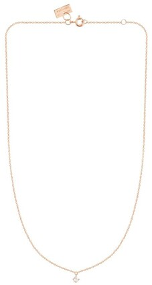 VANRYCKE Rose Gold and Diamond Pendant Necklace