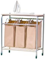 Triple Sorter with Ironing Board