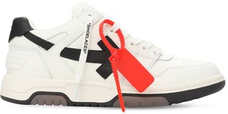 Off-White 30mm Ooo Leather Sneakers