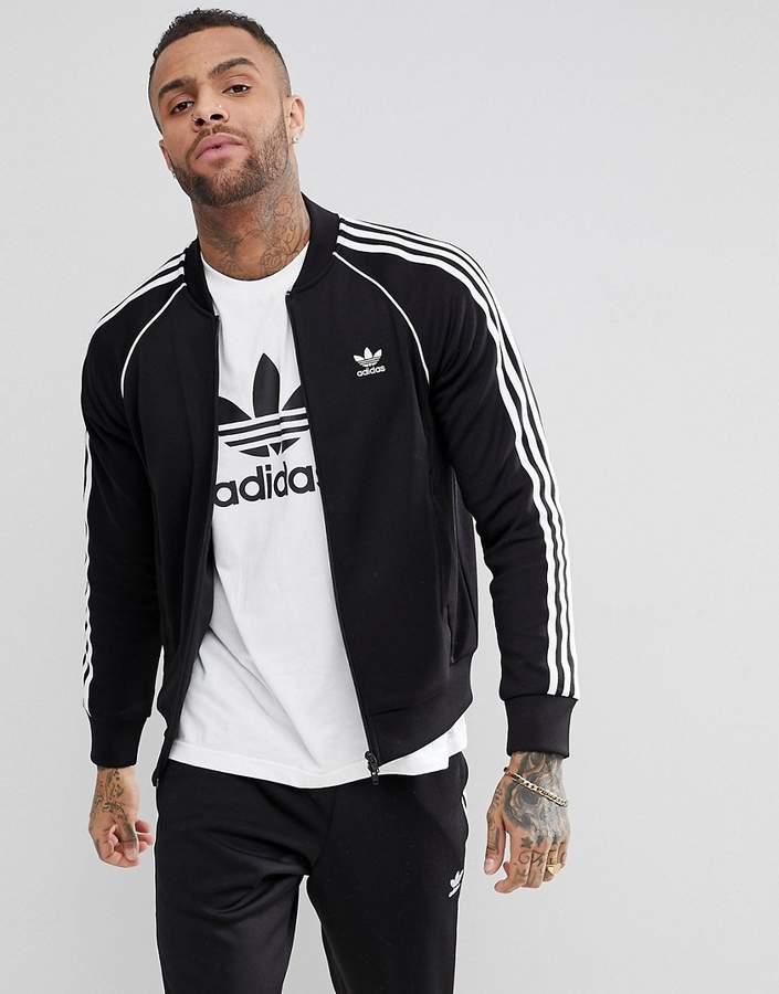 on sale 941a3 f560b Superstar Track Jacket in black