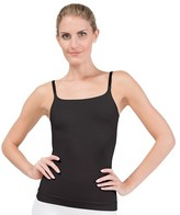 Assets® by Spanx® Women's All Around Smoothers Shaping Camisole - Black 1X