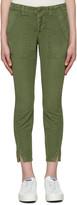 Amo Green Army Twist Trousers