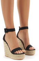 Public Desire Amalie Espadrille Wedge Heeled Sandals