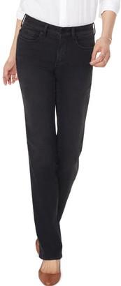 NYDJ Marilyn Muir Garden Pocket Straight Leg Jeans