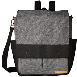 Petunia Pickle Bottom Glazed Color Block Pathway Pack (Birch/Stone) Diaper Bags
