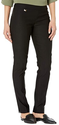 Lisette L Montreal Mercury Super Stretch Slim Leg Pants (Black) Women's Casual Pants