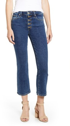 Joe's Jeans The Callie Bootcut Exposed Button Fly Jeans