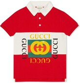 Gucci Kids Children's polo with logo