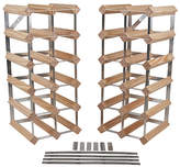 RtA 33 Bottle 6 in 1 Flexi Wooden Wine Rack