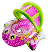 Aqua Leisure Bouncing Butterfly Baby Boat in Pink/Green