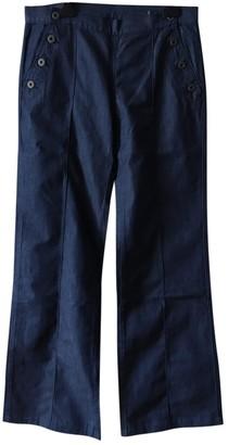 Miu Miu Blue Denim - Jeans Trousers