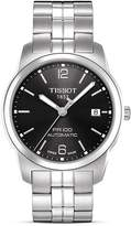 Tissot PR100 Men's Black Automatic Watch, 38mm