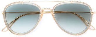Elie Saab Aviator Sunglasses