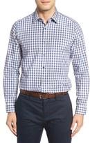Robert Barakett Men's Bradley Check Sport Shirt