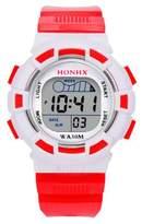 Becoler Digital LED Sports Watch Alarm Date Watch for Kids Boys Girls