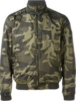 Woolrich camouflage reversible bomber jacket - men - Polyester - M