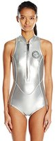 Billabong Women's Surf Capsule Neoprene Sleeveless Wetsuit One Piece Swimsuit