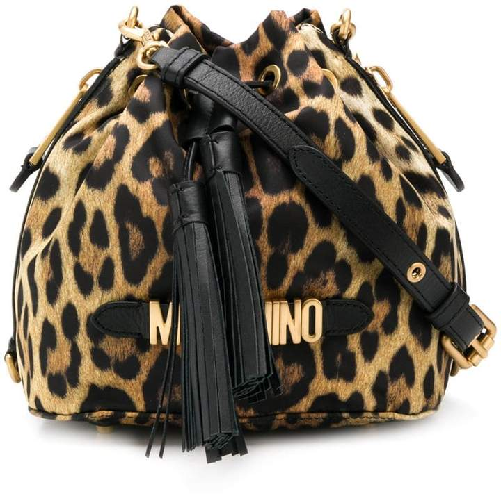 0950c295d Leopard Bucket Bag - ShopStyle