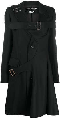 Junya Watanabe Buckled Strap Mid-Length Coat