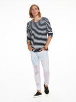 Scotch & Soda Striped PiquE T-Shirt