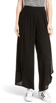 Sun & Shadow Women's Tulip Hem Wide Leg Pants