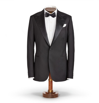 Ralph Lauren Lightweight Wool Tuxedo Jacket