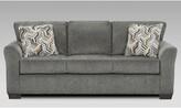 "Thomas Laboratories 83"" Round Arm Sofa Canora Grey"