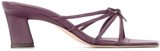 BY FAR Marissa strappy sandals