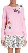 Mira Mikati Women's Star Applique Sweater