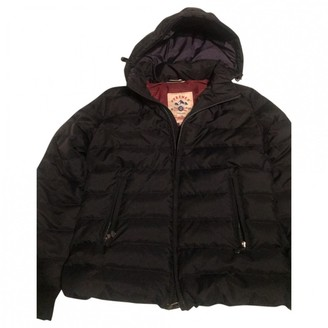 Pyrenex Navy Cotton Coats